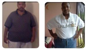 Eduardo Andino Lost 12 Pounds